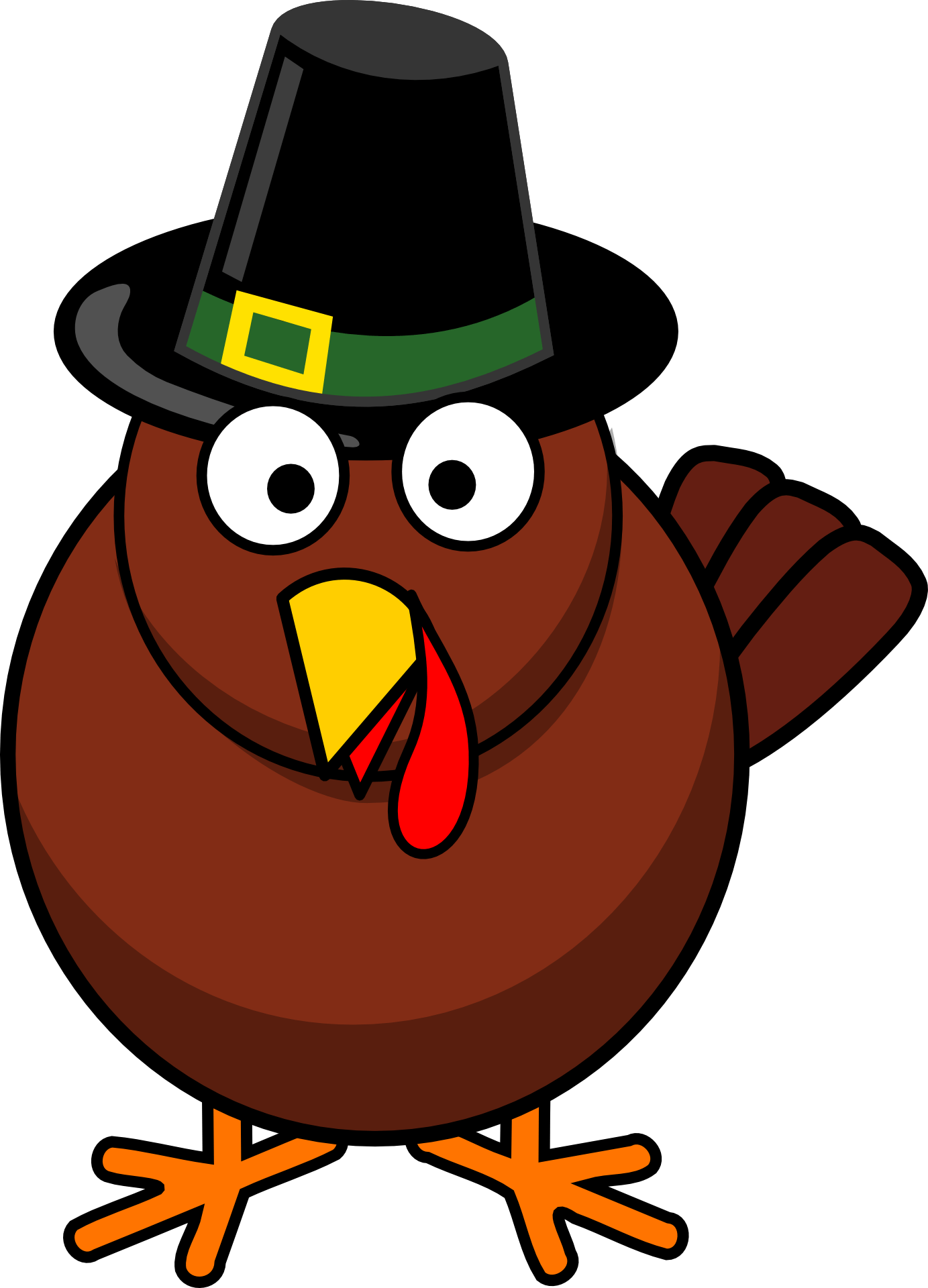 Goofy Thanksgiving Turkey